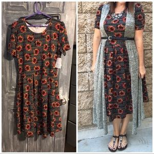 NWT lularoe Amelia dress 2xL